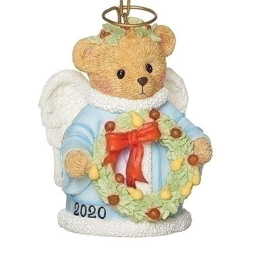 Cherished Teddies 2020 Dated Angel Christmas Ornament
