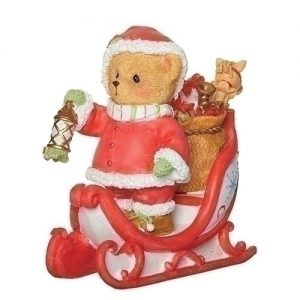 Cherished Teddies 26th Annual Santa Claus Figurine