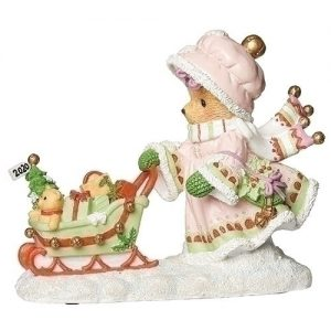 Cherished Teddies 2020 Dated Christmas Figurine