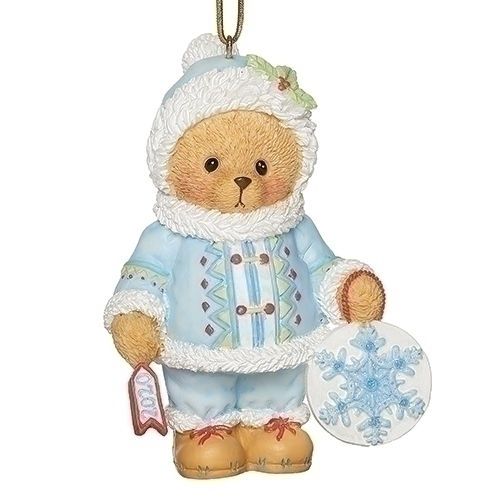Cherished Teddies 2020 Dated Christmas Ornament