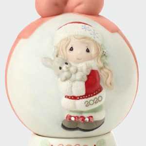 Precious Moments 2020 Dated Christmas Ball Ornament