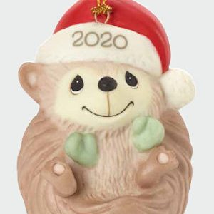Precious Moments 2020 Dated Hedgehog Ornament