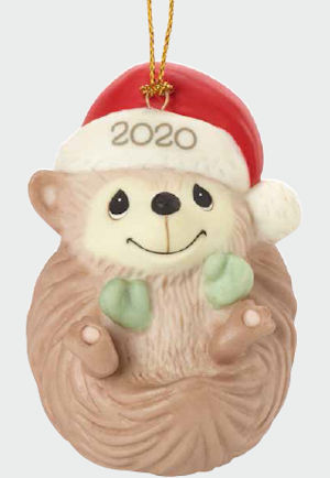 PRECIOUS MOMENTS Dated 2020 Ornament Baby/'s 1st Christmas BOY 201006 NEW