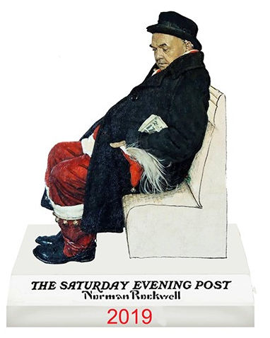 Norman Rockwell 2019 Christmas Ornament