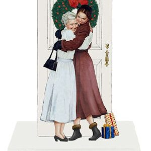 Norman Rockwell 2020 Christmas Ornament