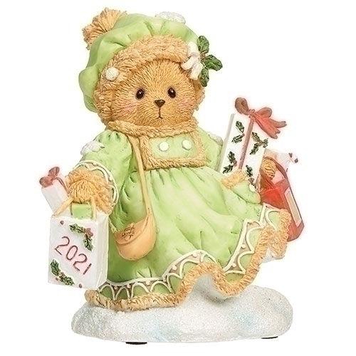 Cherished Teddies 2021 Christmas Figurine