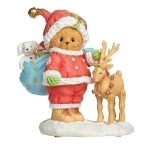 Cherished Teddies 27th Annual Santa Figurine