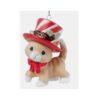 Precious Moments 2021 Dated Cat Christmas Ornament