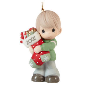 Precious Moments 2021 Christmas Ornament Boy