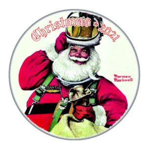 Norman Rockwell 2021 Christmas Plate