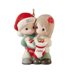Precious Moments 2021 Our First Christmas Ornament
